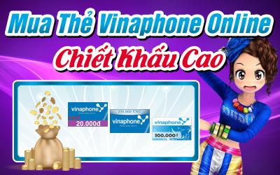 mua thẻ vinaphone chiết khấu cao - nạp thẻ vinaphone online