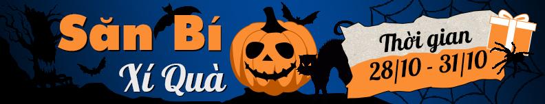[Sự kiện Halloween] Săn Bí - Xí Quà