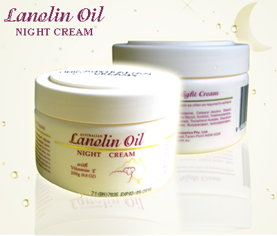 Kem cừu Lanolin oil-night cream