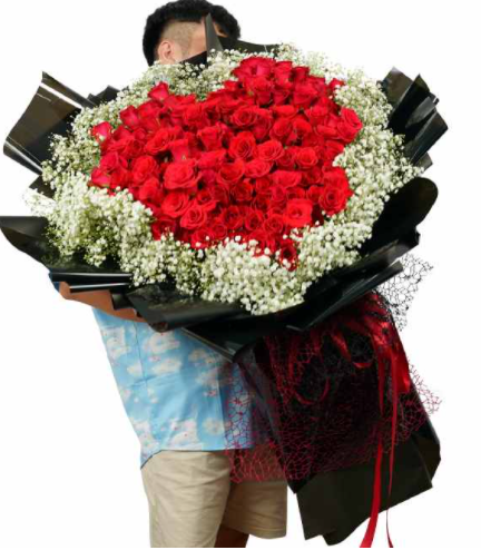 102 hoa hồng tươi