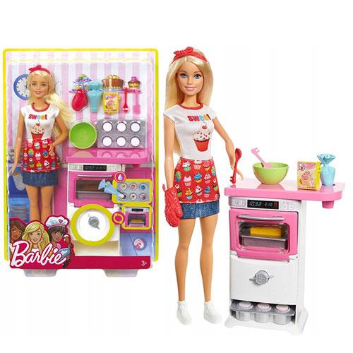 Bup Bê Barbie Đầu Bếp Làm Bánh