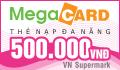 Mua thẻ Megacard online nhanh chóng qua thẻ visa/mastercard.