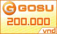 Thẻ Gosu 200k