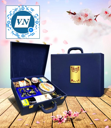 hộp quà Tết Thịnh Vượng M02
