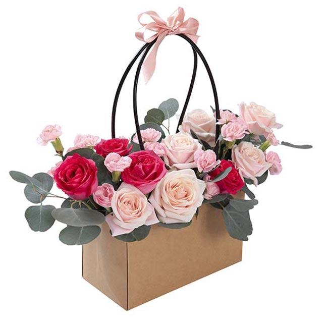 Giỏ Hoa Rose Land