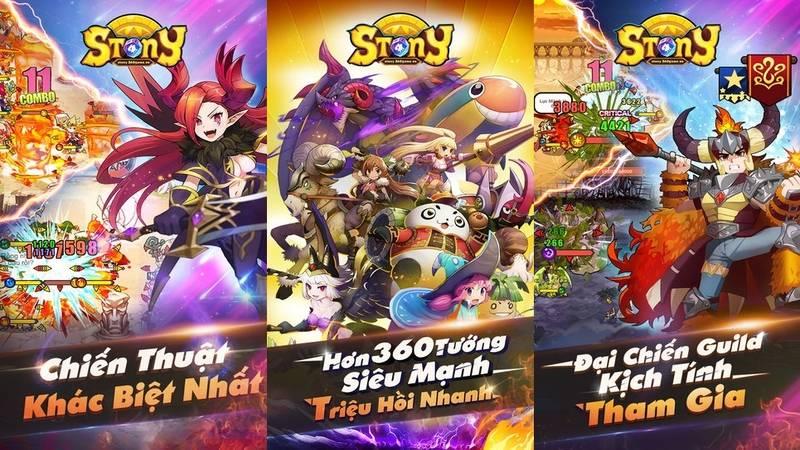 Stony Mobi mang đến cho người chơi hơn 300 hero (còn gọi là Thạch Linh với  ngoại hình đa dạng và bắt mắt. Hệ thống tướng phân chia thành các chủng  loại ...