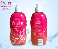 Dầu gội Natures Organics Fruits Shampoo Wild Berry