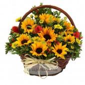 Giỏ hoa Nắng Mới