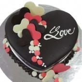 Bánh kem Valentine 03
