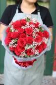Bó Hoa Hồng Đỏ Keep Loving