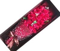 Hoa hồng sáp 33 bông đỏ