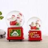 Hộp Nhạc Giáng Sinh Ông Già Noel Vui Tính