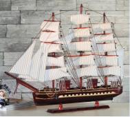 Mô hình thuyền gỗ Confection
