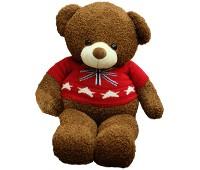 Gấu Teddy Lông Xù Red Sweater